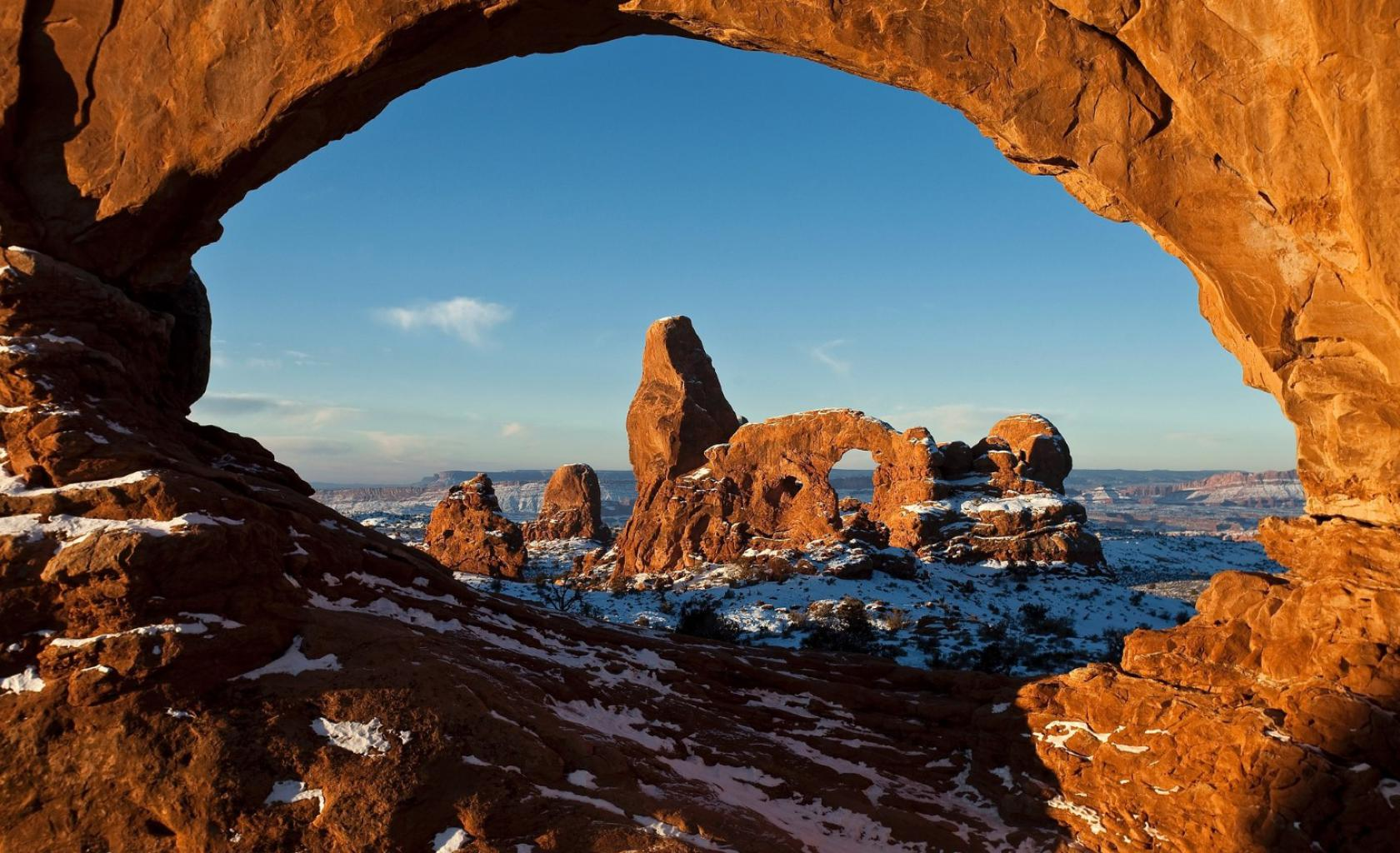 Arches National Park -Rotsboog