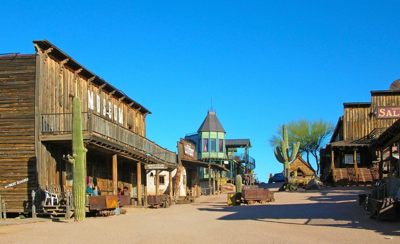 Arizona - Wilde Westen Town