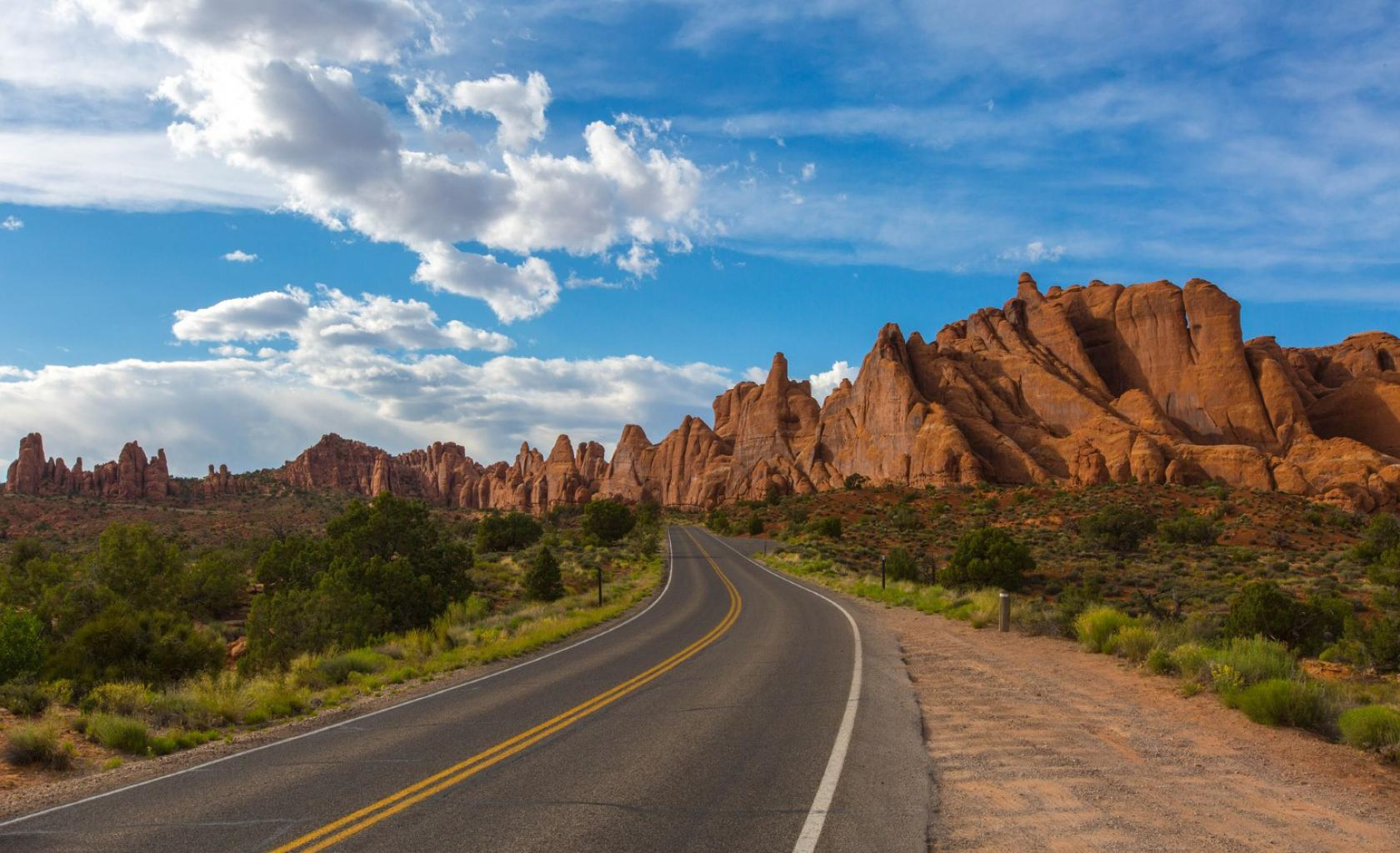 Utah - Prachtige weg