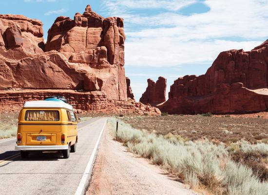Rondreis per camper in Amerika